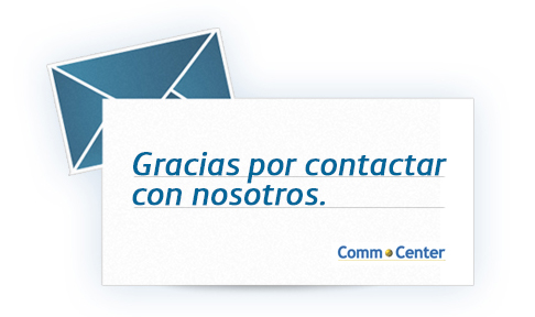 Gracias por contactar con nosotros